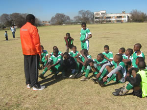 Nigeria Team ready before action