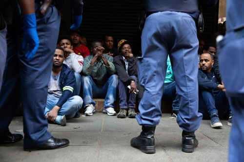 Xenophobic mob rampages through Joburg