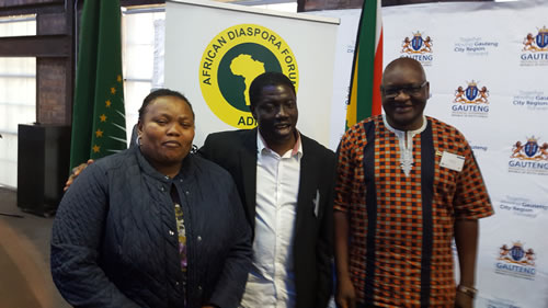 Breakfast meeting with Premiere, The Honourable Mr David Makhura and the ADF