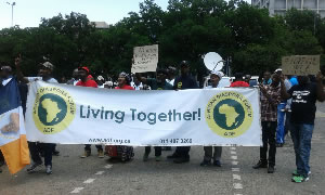 ADF promoting Living Together banner