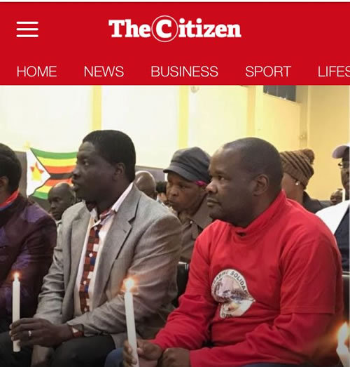 The Citizen Newspaper cover