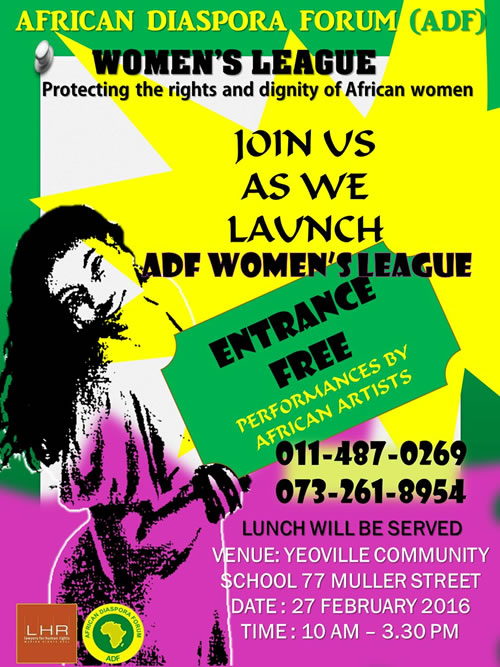 ADF launches woman's league, poster