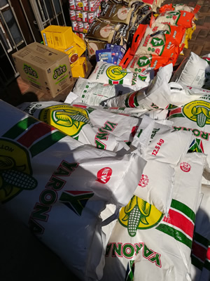 Food distribution johannesburg CBD