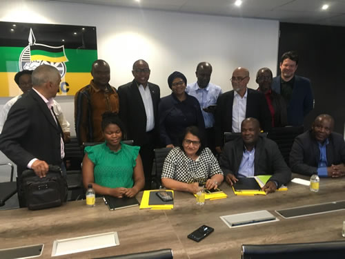 ADF and ANC meet