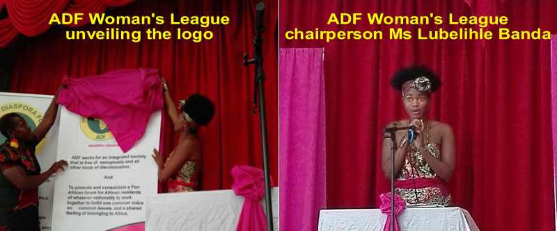 Launch of ADF Woman's league